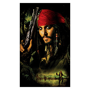 Pirates of the Caribbean. Размер: 30 х 50 см